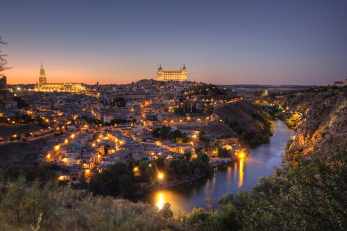 Sunset in Toledo | Spain